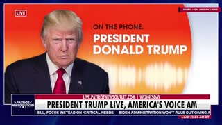 Patriot News Outlet | President Trump Exclusive With John Fredericks | 9/1/2021