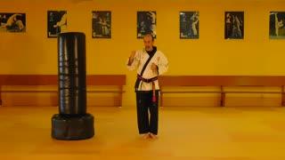 Little Samurang Orange Belt White Tip