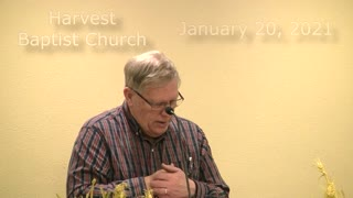 January 20, 2021 - Genesis 7, 8, 11 - Pastor David Buhman