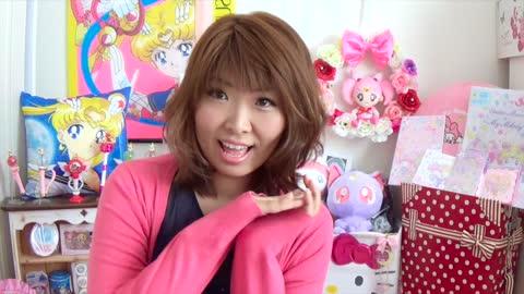 Japanese kawaii otaku goods Sailor Moon & My Melody collaborated goods!