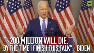 Biden. The gaffe machine.