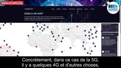 La théorie environnementale du COVID 19 et la carte des antennes 5G