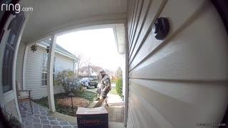 First Ring Doorbell Camera Victim is Myself