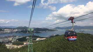 ride cable car!!