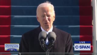 """Biden Claims That He Will """"Defend Constitution"""" In Inauguration Speech"""