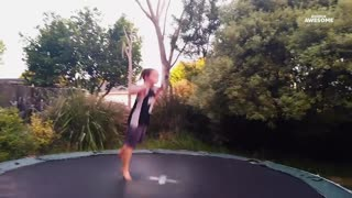 People Amazing Man Jumps Over Woman With Unicycle _ Chapter1