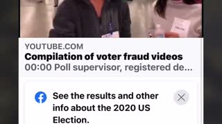 Georgia voter fraud silenced by YouTube