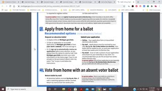 Michigan Voter Registration Guidelines For 11-3-2020