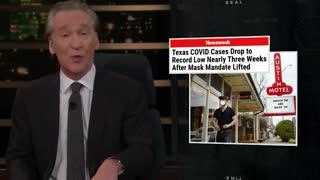 Bill Maher Defends Ron DeSantis, SKEWERS Leftists for Spreading Covid Misinformation