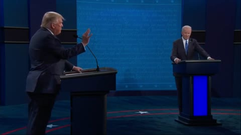 Trump Confronts Biden to to His Face Over Hunter Biden Scandal — But Just Wait for His Response