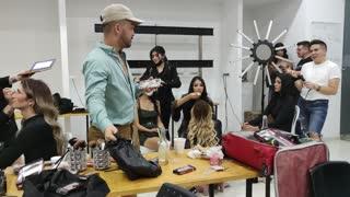 backstage santander fashion week