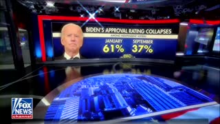 Biden's Approval Rating Collapses 24 Points Among Independents