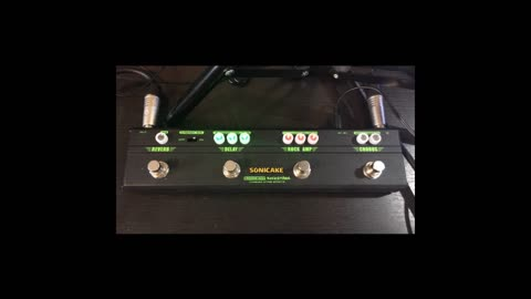 Pedal Review - Sonicake Rockstage Multi-Effects Pedal