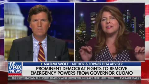 Liberal Guest Tells Tucker Politicians are Clinging to Their Lockdown Powers