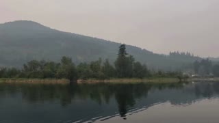 Smoke from Canada wildfires cover British Columbia sky