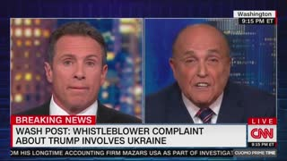Rudy Giuliani and Chris Cuomo slug it out in heated interview