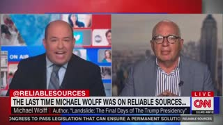 Brian Stelter getting called out by his own guest.