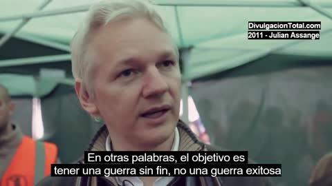 2011 - Julian Assanges talks about Afghanistan