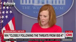 Psaki: We Don't Negotiate With Terrorists.... But....!!