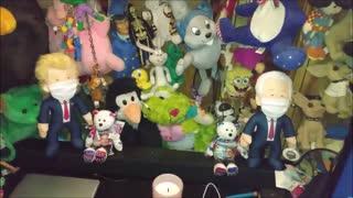 Stuffed animal room before 2020 Election 10-26-2020