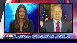 Pa. state Senate President Jake Corman fires Sen. Mastriano's entire staff