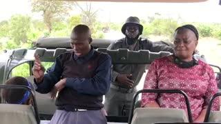 Kruger National Park sign language interpreter