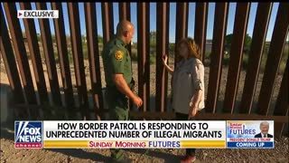 Maria Bartiromo with Border Patrol, witnesses illegal immigrant crossings