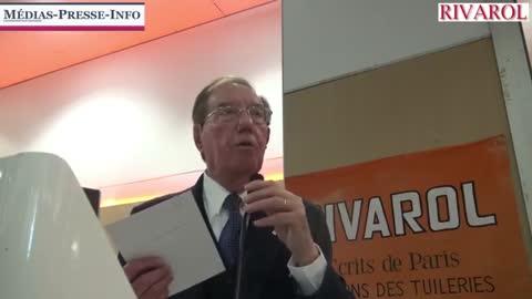 Pierre Sidos au banquet de RIVAROL