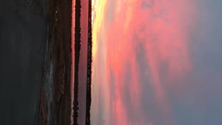 Sunset in northern New Brunswick