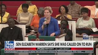 Elizabeth Warren called by God