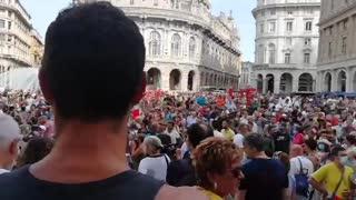 Piazza de ferrari Genova