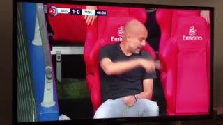 Guardiola funny scene