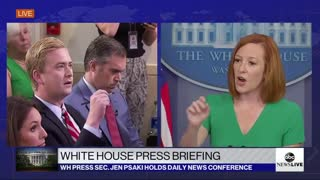 Psaki discusses how the White House and Big Tech are colluding to censor free speech online