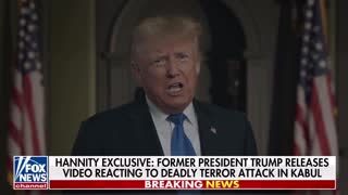 Trump's remarks on the killing of 13 US Marines in Kabul