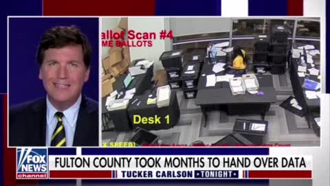 What happend on election night 2020 in Fulton County, Georgia