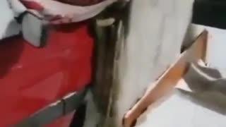 Calefacción con coche