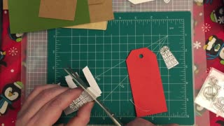 Making a gift tag