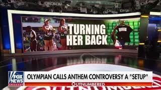 McEnany Blasts Olympian Who Turned Back During National Anthem