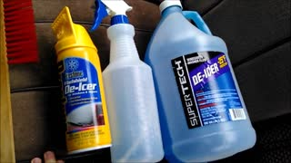 DIY Winter Survival Tips De-icer For Your Vehicle