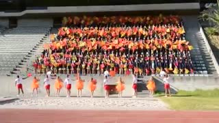 High school cheering South Africa