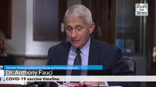 Dr. Fauci on a COVID-19 vaccine timeline