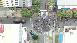 Policía dispersó los disturbios en Bucaramanga