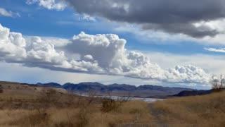 Time Lapse Clouds over Lake Mead