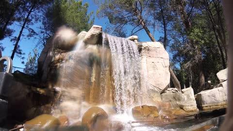 Roaring Rapids at Six Flags Magic Mountain