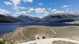 Twin Lakes with the drone