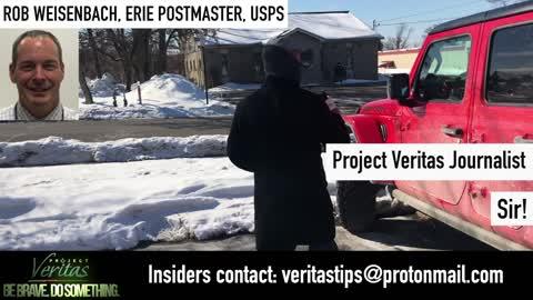 Project Veritas interview the Postal Whistleblower