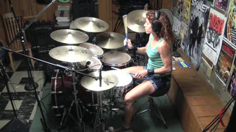We're An American Band by Grand Funk Railroad ~ Drum Cover