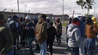 Astron Energy Refinery protest