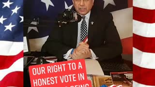 Our Right to a Honest & Fair Election is Being Stolen!