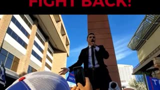 Stand Up, Fight Back! Mike Coudrey Speaks at the Arizona #StopTheSteal Rally